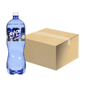 일화 천연사이다 1.5L x 12pet 1박스 탄산음료