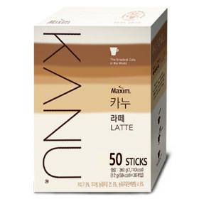카누 라떼  50T+메모패드: 공유의 커피~