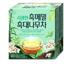 담터 시원한 흑메밀흑대나무차 1.2G 40T