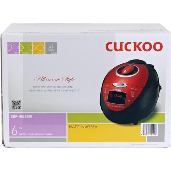 쿠쿠 6인용 열판압력밥솥 CRP-N0680SR 상품이미지