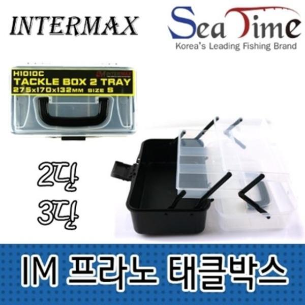 낚시용품 보관 인터맥스 프라노 태클박스 2단 L 3단 상품이미지