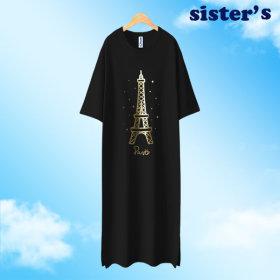시스터 빅사이즈/ 롱원피스/에펠탑원피스(ROPS88)