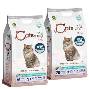 [캐츠랑]캣츠랑 5kg(1+1) 고양이사료10kg (당일출고)