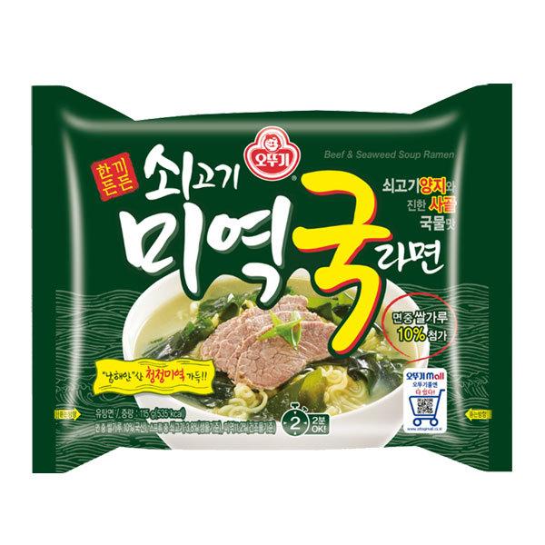 (현대Hmall)오뚜기 쇠고기 미역국 라면 32봉 상품이미지