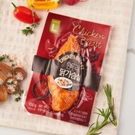 초L프레시)탄두리닭가슴살 100G