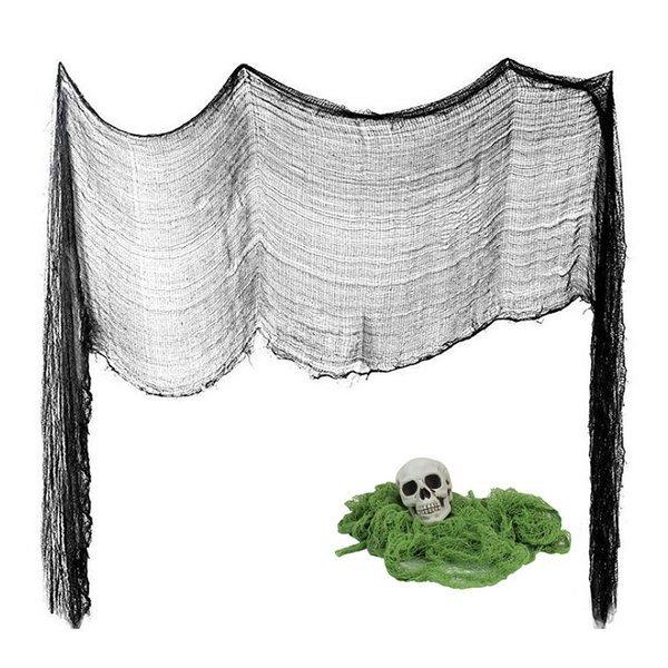 (파티공구) 럭셔리그물망장식(블랙) 럭셔리 그물망 박쥐 세트 할로윈 천정 장식 데코 거미 상품이미지
