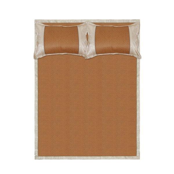 쿨자리 야생초 침대패드 베개커버 세트(라탄) (150x19 상품이미지