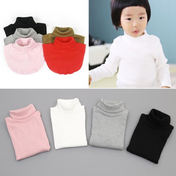 유아 아동 목폴라 티셔츠 폴라티 어린이 넥워머 목티 상품이미지