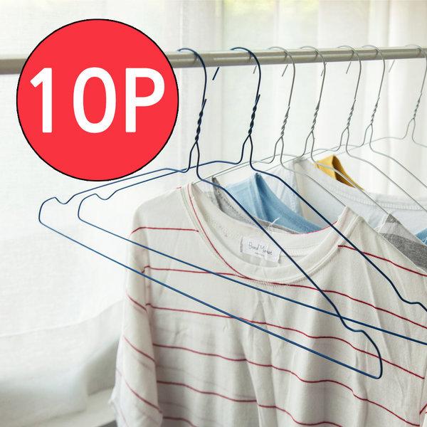 세탁소옷걸이10P/철사옷걸이/옷걸이/옷정리 상품이미지
