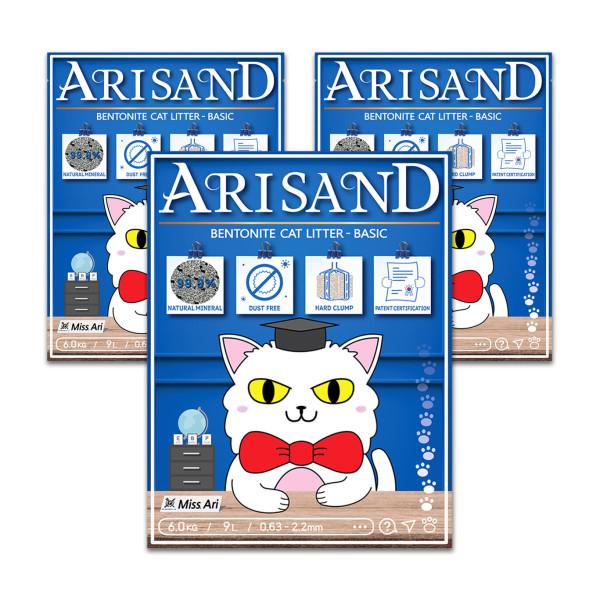 아리쌘 벤토나이트 모래16.8kg 상품이미지