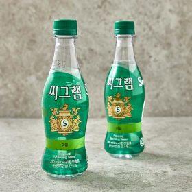 씨그램 탄산수(라임) 350ml