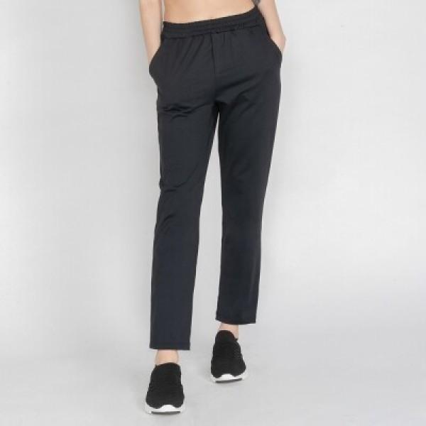 여성 트레이닝복 이지 슬랙스 팬츠 DFW4020 블랙 상품이미지