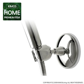 (KIMOS) 흡착시 샤워기홀더 샤워기 걸이 욕실 용품