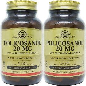 2병 솔가 폴리코사놀 Policosanol 20mg 100야채캡슐