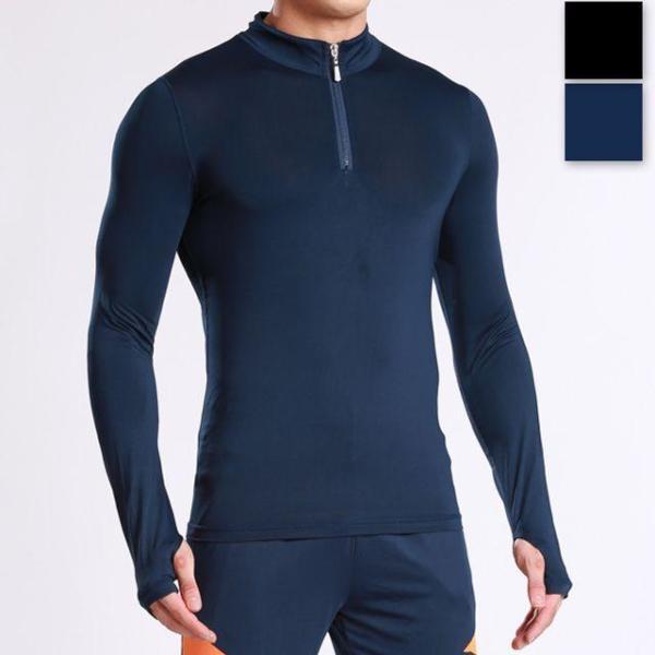 집업 남자 긴팔 헬스복 요가의류 기능성 티셔츠 의 상품이미지