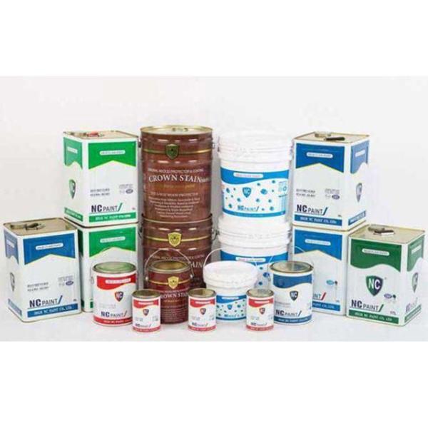 국산 외부용  수성페인트(백색) 4L 상품이미지