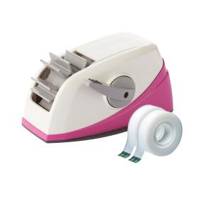 스카치 원터치 테이프 디스펜서(핑크) + 리필무료증정