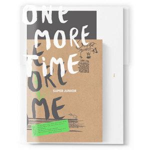 (일반반) 슈퍼주니어(SUPER JUNIOR) - 스페셜 미니앨범 One More Time (미니포스터+포토카드+클리어파일)