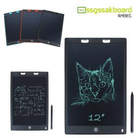 프로칸 쓱싹보드 LCD 12인치 전자노트 메모장 칠판