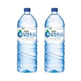 정식품 심천수 샘물 2LX12개 신제품 생수 행사