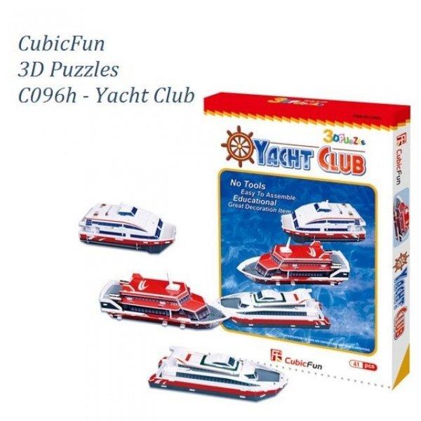 입체퍼즐 요트클럽-C096h 유람선 배 범선 요트 바다 상품이미지