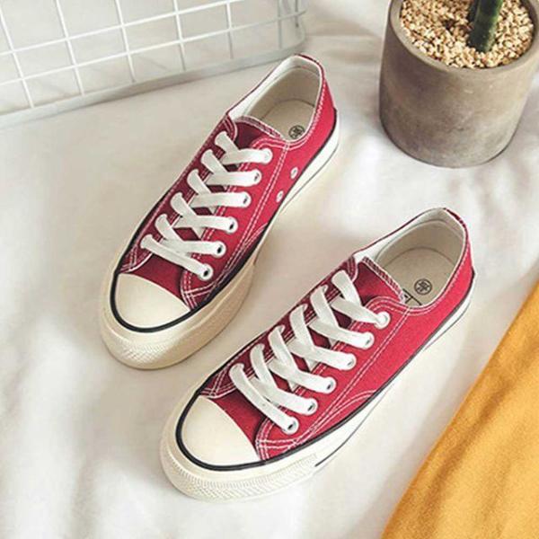 캔버스화 학생 운동화 신발 나들이 스니커즈 캐주얼 상품이미지