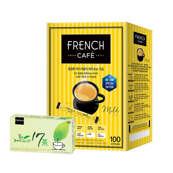 카페믹스/믹스커피/ 프렌치카페 커피믹스 100T 상품이미지