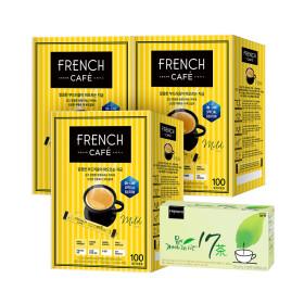 카페믹스/믹스커피/ 프렌치카페 커피믹스 300T+믹스10T