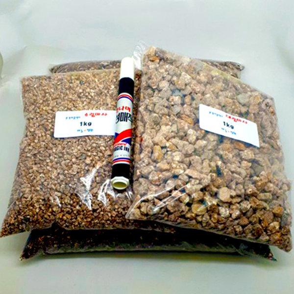 분갈이흙셋트 분갈이용토4L+대립마사1kg+소립마사1kg 상품이미지