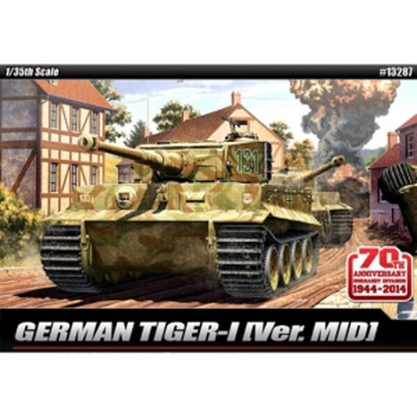 (현대Hmall) ACA0013287  1/35 GERMAN TIGER-I Ver. MID 타이거-1 중기형  노르망디 침공 70주년 상품이미지