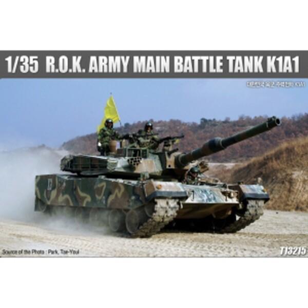 (현대Hmall) ACA0013215  1/35 R.O.K ARMY MAIN BATTLE TANK K1A1 대한민국육군 상품이미지