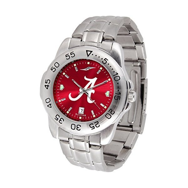 해외쇼핑/NCAA Stainless Steel Team Logo Mens Watch 상품이미지
