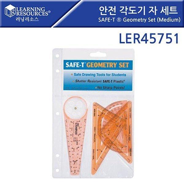 러닝리소스  LER45751 안전 각도기 자 세트 SAFE-T 상품이미지