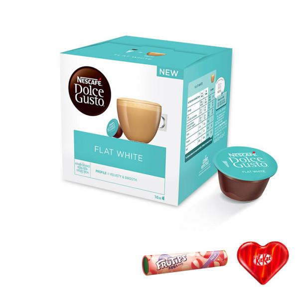 돌체구스토 플랫 화이트 캡슐 커피 16입 공식판매점 상품이미지