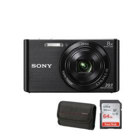 소니정품 DSC-W830 64G/케이스증정 카메라 2010만화소