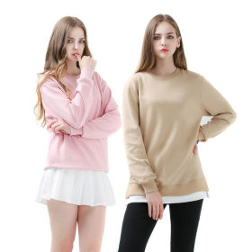 Overfit Basic Plain Women`s Sweatshirts/ Men`s Sweatshirts