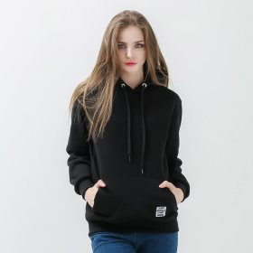 Basic Women`s Plain Hooded T-shirt / Women`s Hooded T-shirt M-2XL