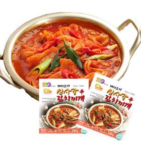 수원 신사강)돼지고기김치찌개 330G (1인분)