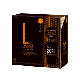루카스나인 아메리카노/커피믹스  다크70+20T