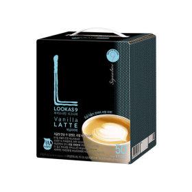 커피믹스/아메리카노/라떼/루카스나인 바닐라라떼50T