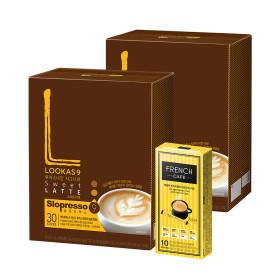 커피믹스/아메리카노/라떼/루카스나인 스위트60+유리컵