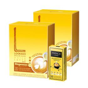 커피믹스/아메리카노/라떼/루카스나인 돌체60T+유리컵