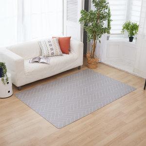 [이노하우스]북유럽 디자인 PVC 양면 카페트 러그 거실 매트