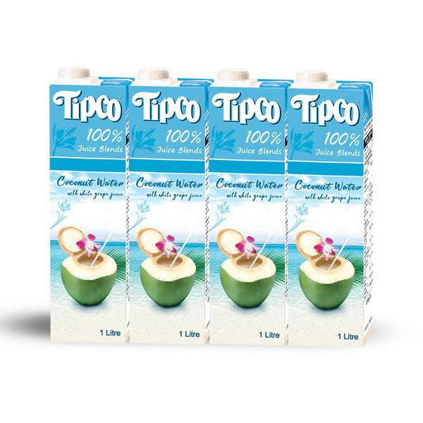 코코넛워터 1L 4팩/음료수 (유통기한 2021.11.25) 상품이미지