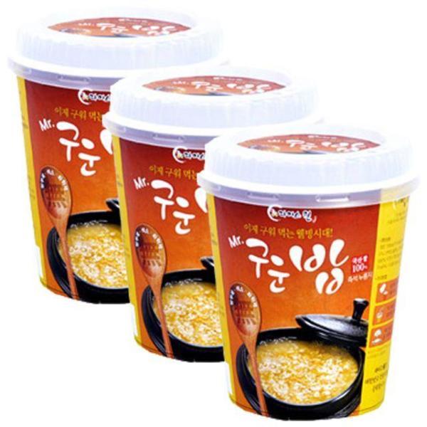 미스터 구운밥(컵) 40gx30개(한박스) 국내산 간편식 상품이미지
