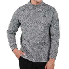 남성 기모안감 반폴라 이너 티셔츠 하프넥(AW93LT002M)