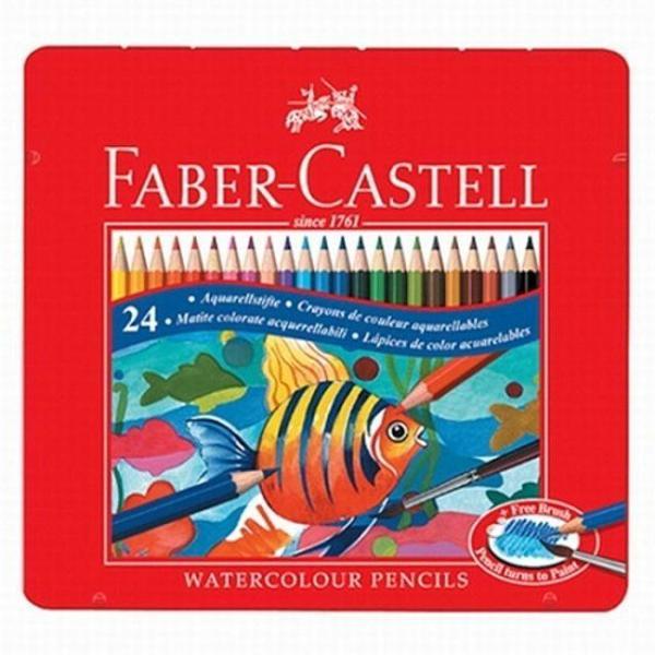 파버카스텔 틴수채색연필.24색 상품이미지