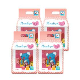 미라클 팬티기저귀 특대형(여아용) 22매 4팩