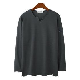 트임 라운드 리버플 남성 긴팔티 / 남자 긴팔티셔츠