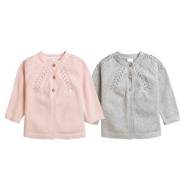 면 스웨터 가디건(12개월-4세) 203635 상품이미지